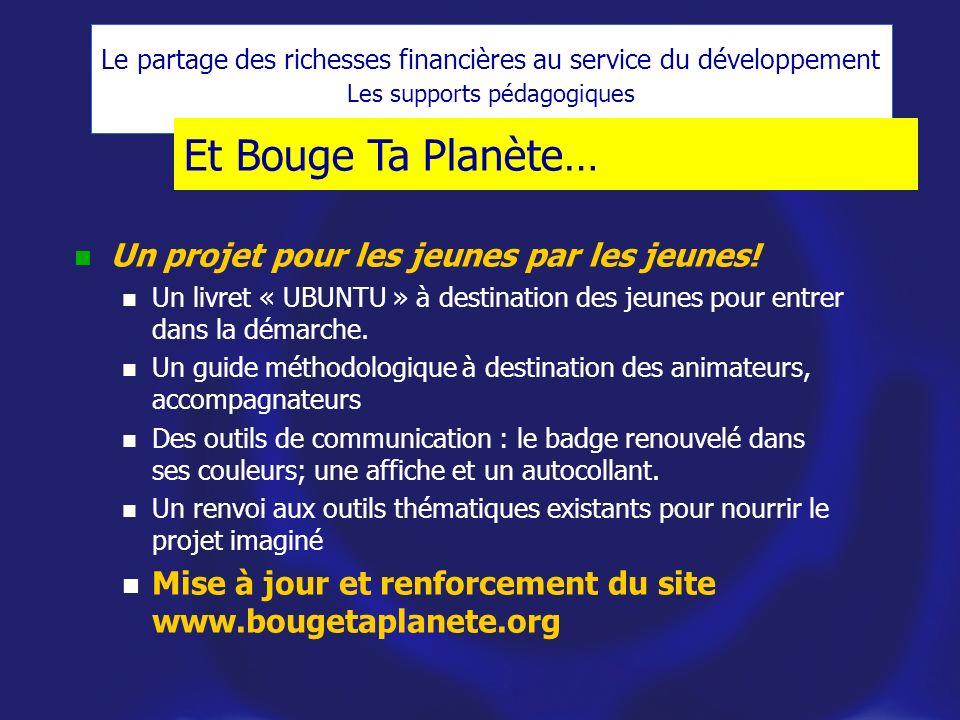 Et Bouge Ta Planète… Un projet pour les jeunes par les jeunes.