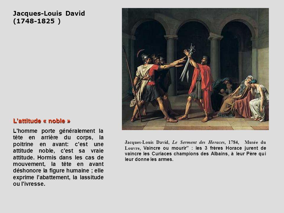 Jacques-Louis David, Le Serment des Horaces, 1784, Musée du Louvre, Vaincre ou mourir : les 3 frères Horace jurent de vaincre les Curiaces champions d