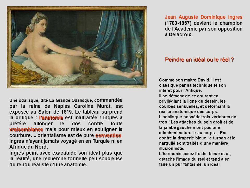 lanatomie vraisemblance convention Une odalisque, dite La Grande Odalisque, c ommandée par la reine de Naples Caroline Murat, est exposée au Salon de