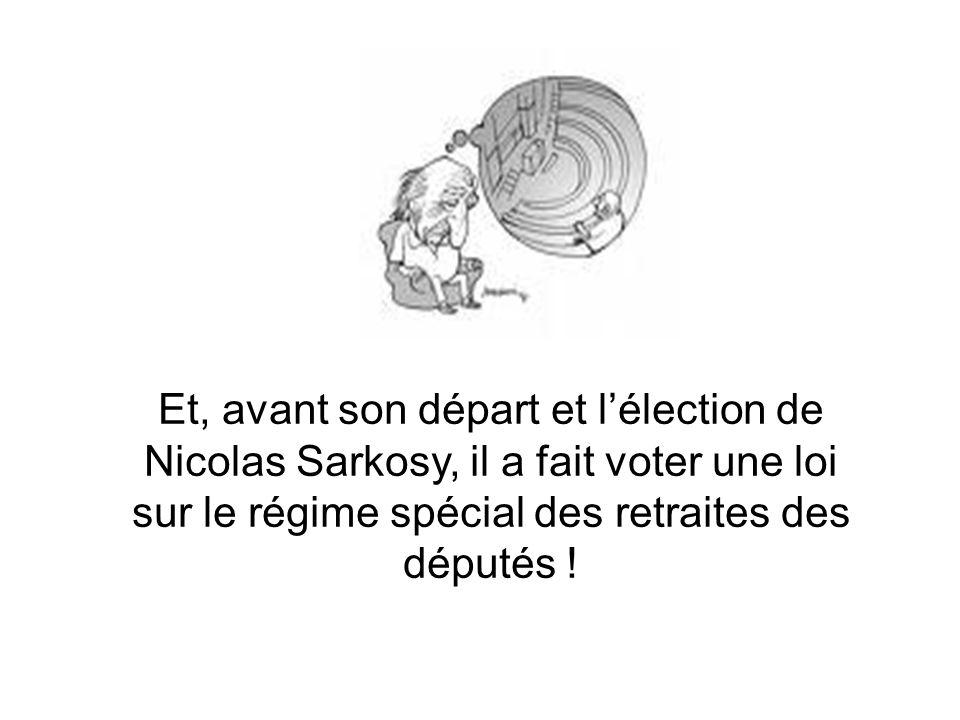 « Mais… ils peuvent ne pas être réélus . » Et alors, Jean-Louis Debré est arrivé .