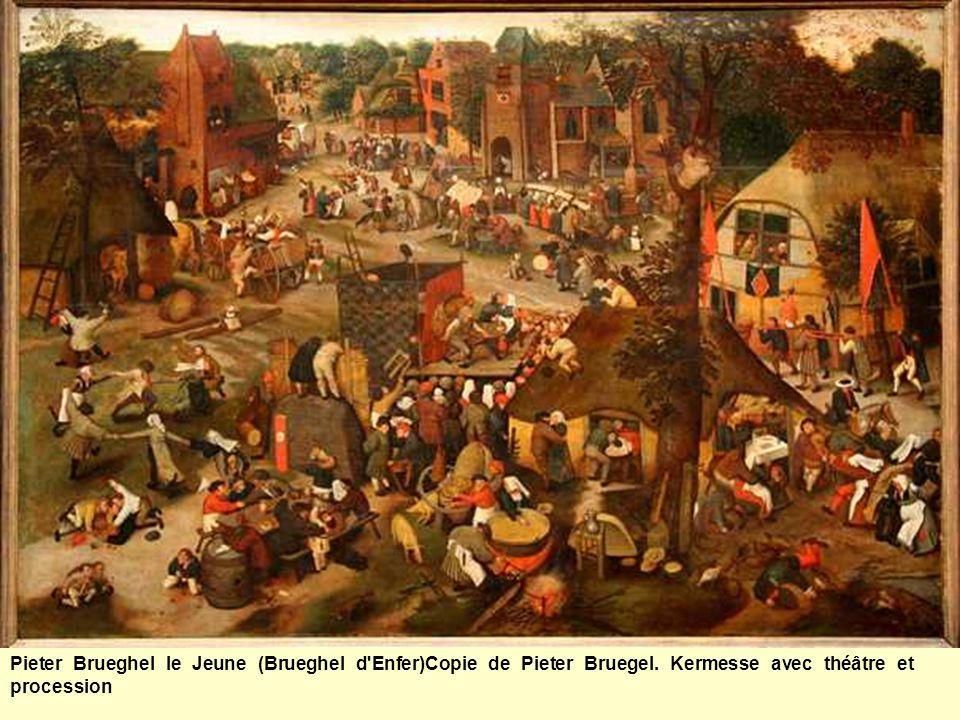 Pieter Brueghel le Jeune (Brueghel d Enfer)Copie de Pieter Bruegel.