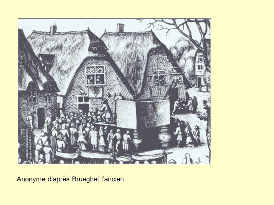 Anonyme daprès Brueghel lancien
