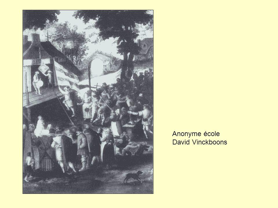 Anonyme école David Vinckboons