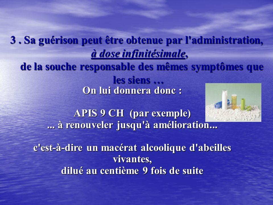 2. Un malade présentant (par exemple) une angine, décrit un ensemble de symptômes morbides caractéristiques de sa « maladie » : Il réagit par une Infl