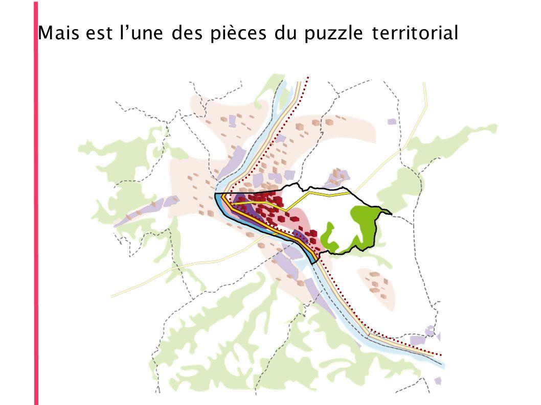 Mais est lune des pièces du puzzle territorial