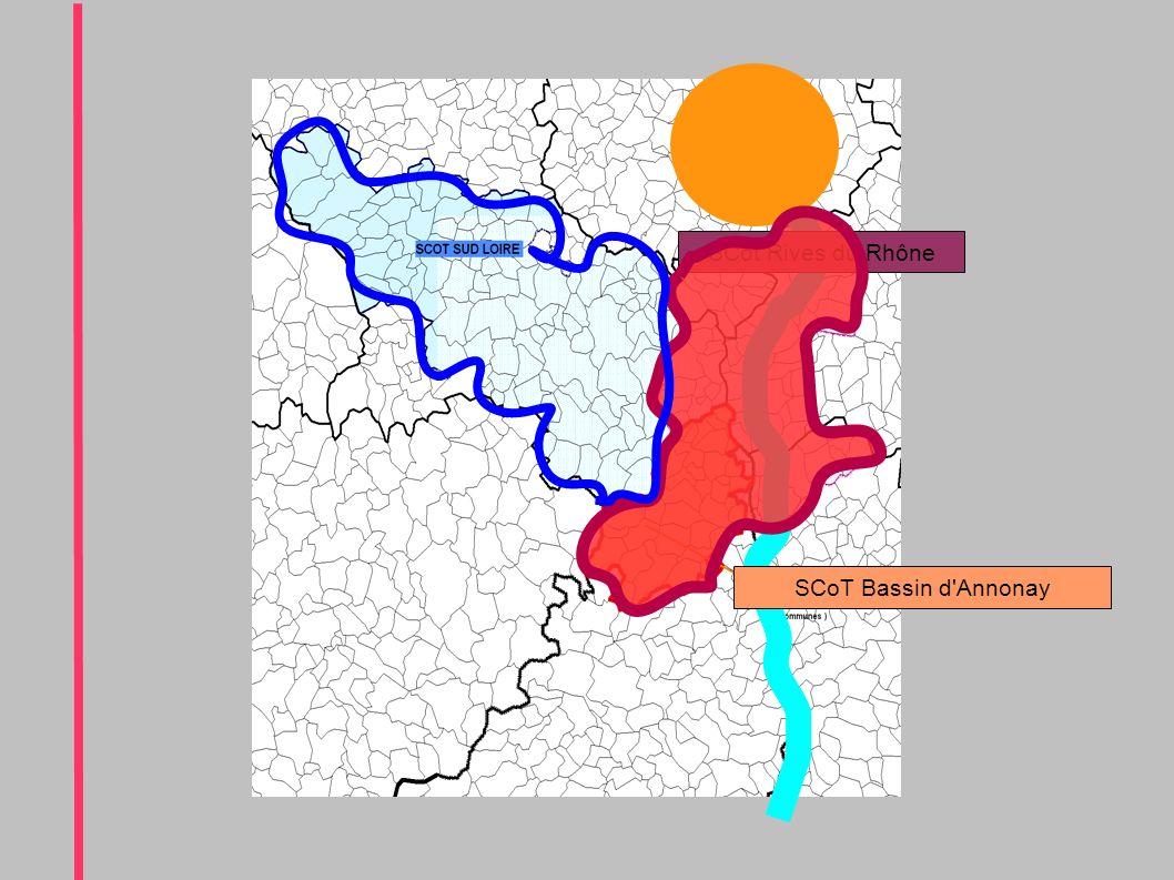SCot Rives du Rhône SCoT Bassin d Annonay
