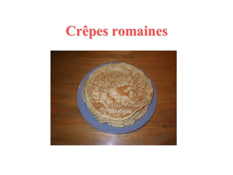 Crêpes romaines