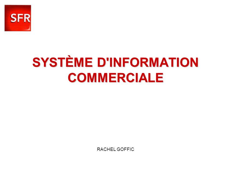 SYSTÈME D'INFORMATION COMMERCIALE SYSTÈME D'INFORMATION COMMERCIALE RACHEL GOFFIC