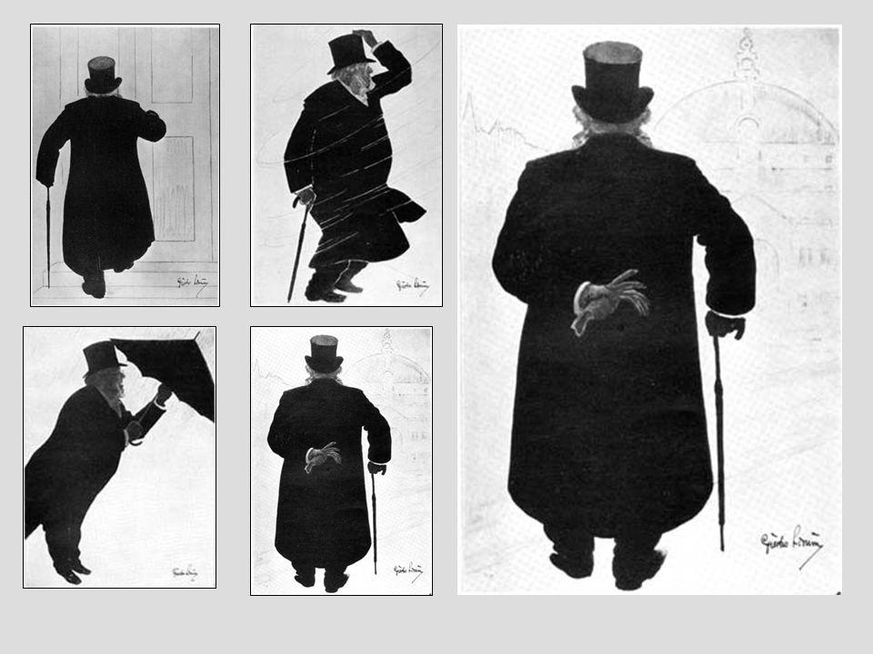 Ibsen est devenu une « figure » de Christiana… la légende dit que les habitant réglaient leur montre sur son passage….