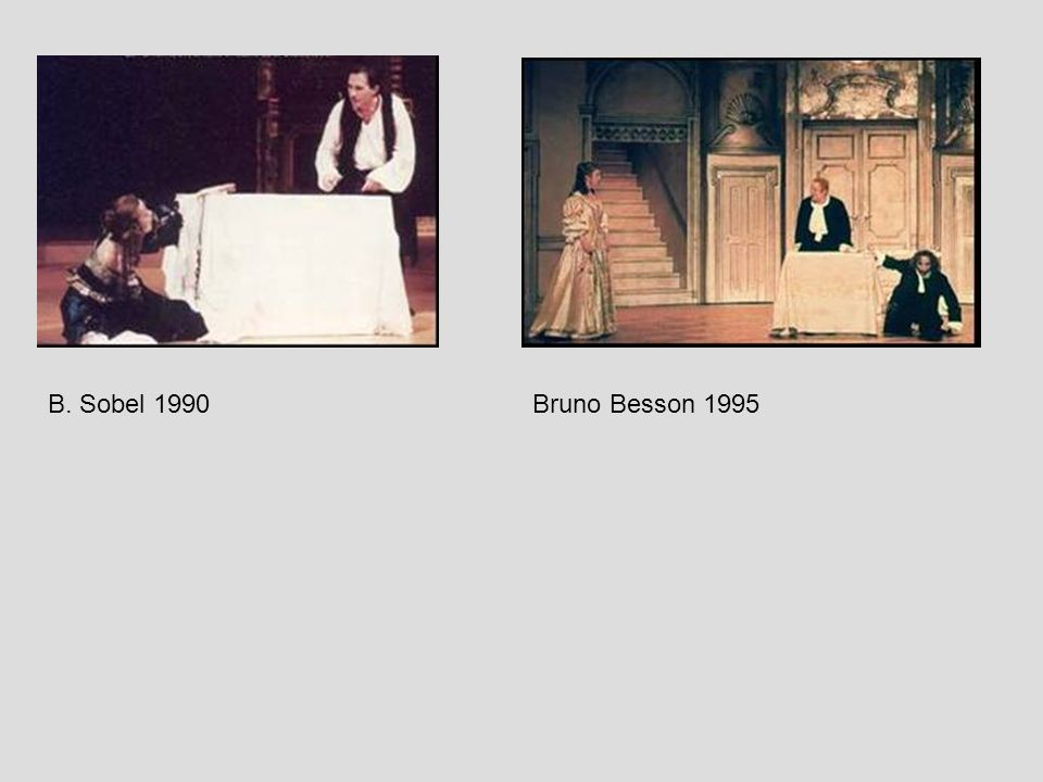 B. Sobel 1990Bruno Besson 1995
