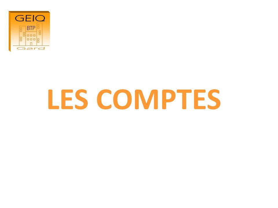 LES COMPTES