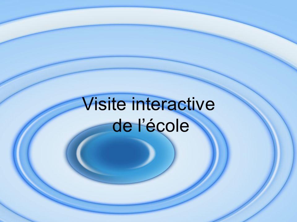 Visite interactive de lécole