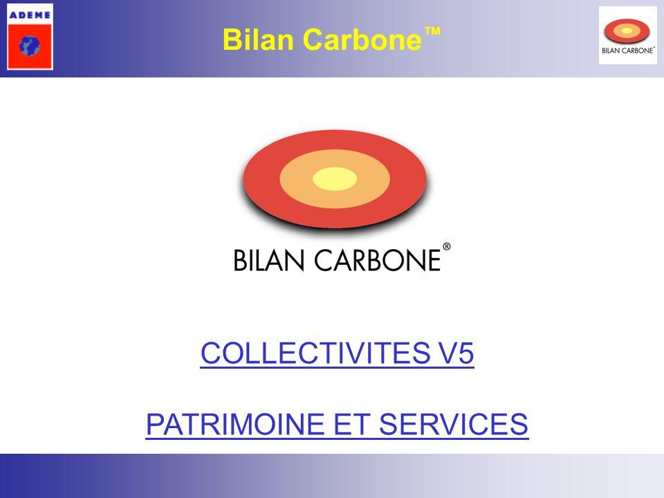 1 Bilan Carbone COLLECTIVITES V5 PATRIMOINE ET SERVICES