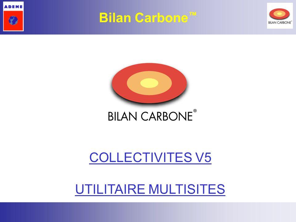 22 Bilan Carbone COLLECTIVITES V5 UTILITAIRE MULTISITES
