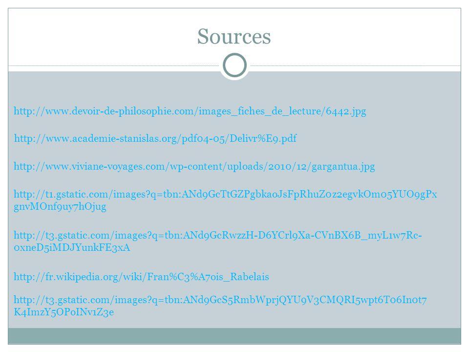 Sources http://www.devoir-de-philosophie.com/images_fiches_de_lecture/6442.jpg http://www.academie-stanislas.org/pdf04-05/Delivr%E9.pdf http://www.viv