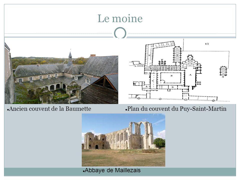 Ancien couvent de la Baumette Plan du couvent du Puy-Saint-Martin Le moine Abbaye de Maillezais