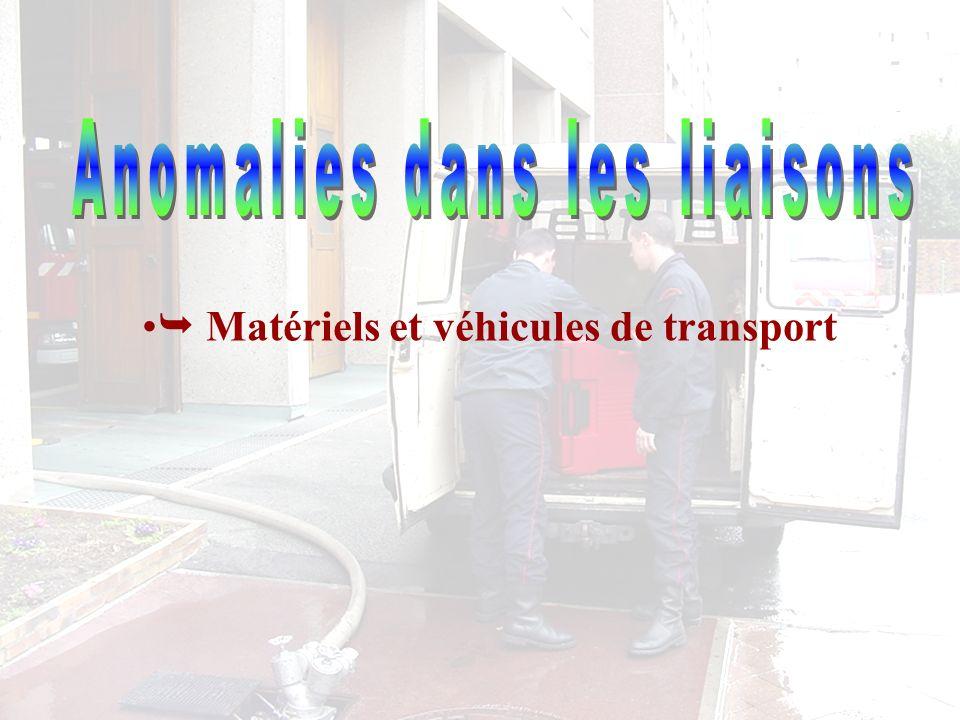 Matériels et véhicules de transport