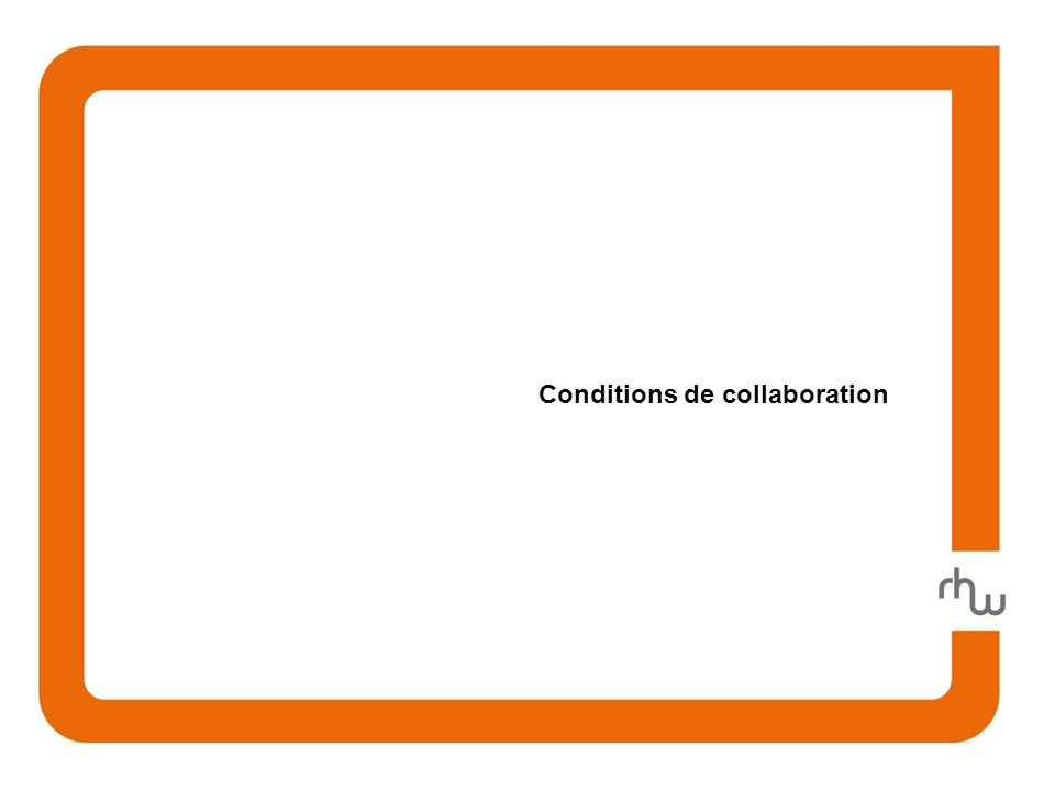Conditions de collaboration