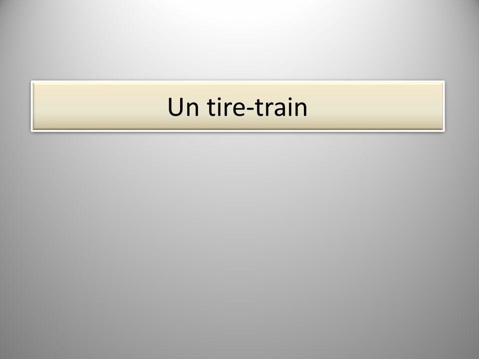 ? ? ? Une locomotive ? ?
