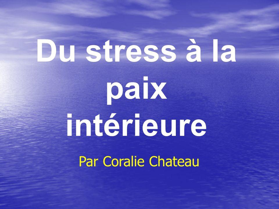Du stress à la paix intérieure Par Coralie Chateau