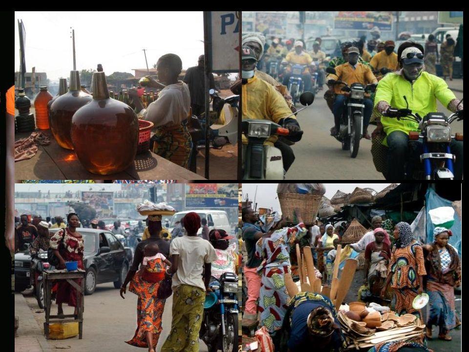 CapitalePorto Novo Cotonou Administrative 250 000 h Economique 800 000 h