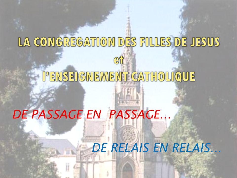 DE PASSAGE EN PASSAGE… DE RELAIS EN RELAIS…