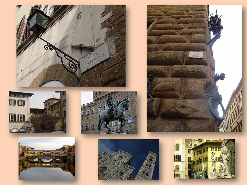 MISSION Parcourir la ville de Florence sur les traces des personnages de Musset (les Médicis, les Strozzi, les Cibo, les Salviati, les Rucellai …) pour les faire revivre dans les lieux du drame.