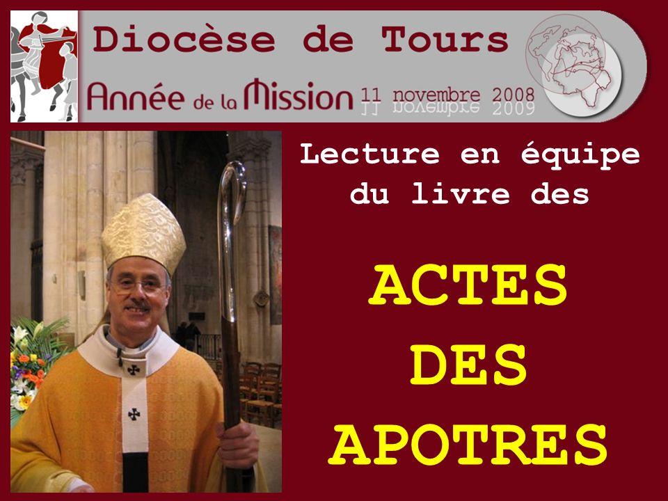 Lecture en équipe du livre des ACTES DES APOTRES