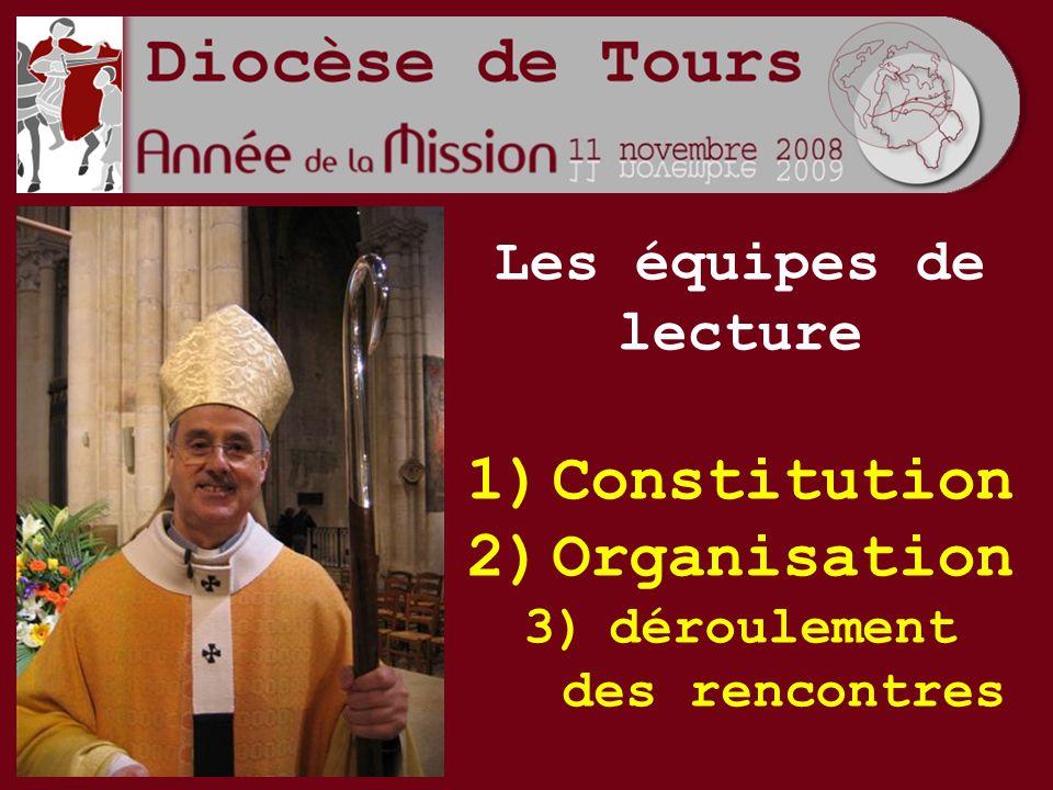 Les équipes de lecture 1)Constitution 2)Organisation 3)déroulement des rencontres