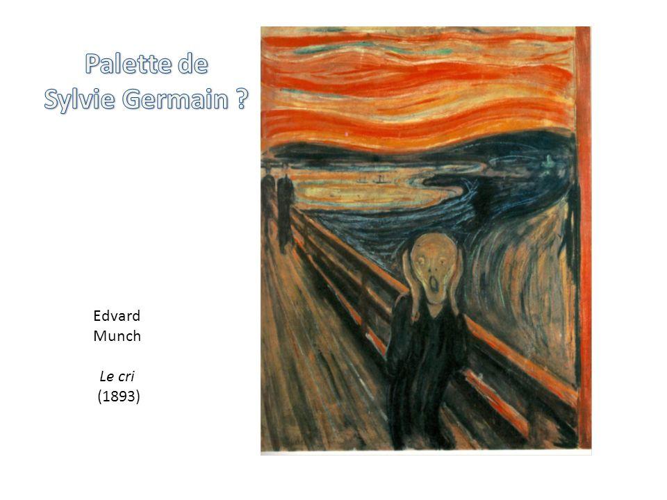 Edvard Munch Le cri (1893)