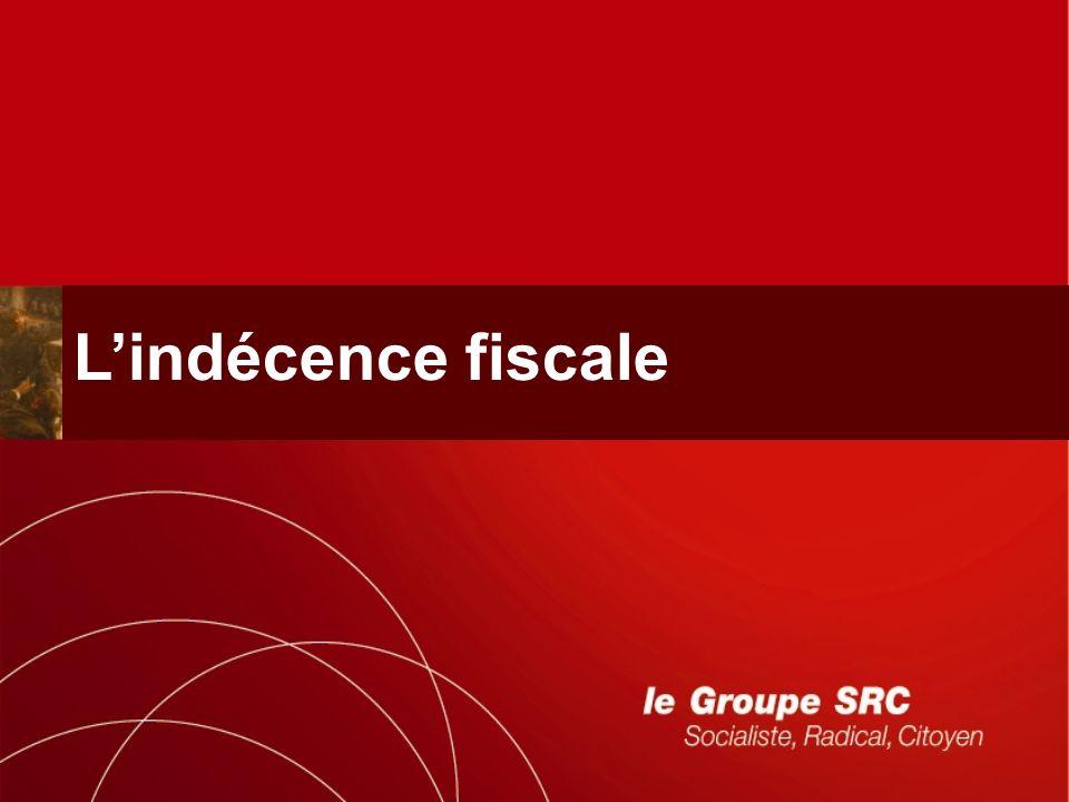 Lindécence fiscale