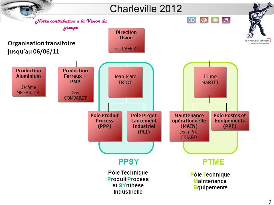 Site de Charleville 20 -Assurer la fourniture, la mise au point et la maintenance de lensemble des outillages nécessaire à la fabrication pour assurer la production en qualité et en quantité.