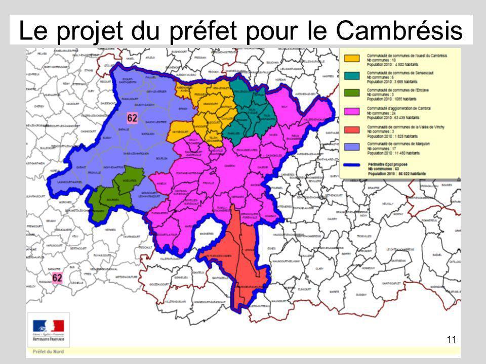 Le projet du préfet pour le Cambrésis 11