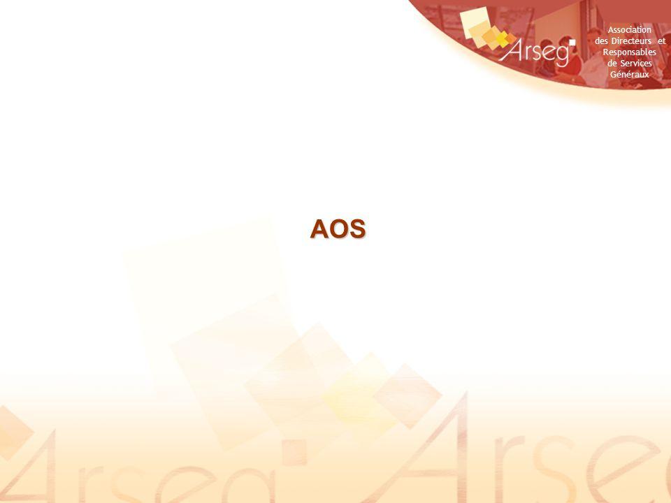 Association des Directeurs et Responsables de Services Généraux AOS