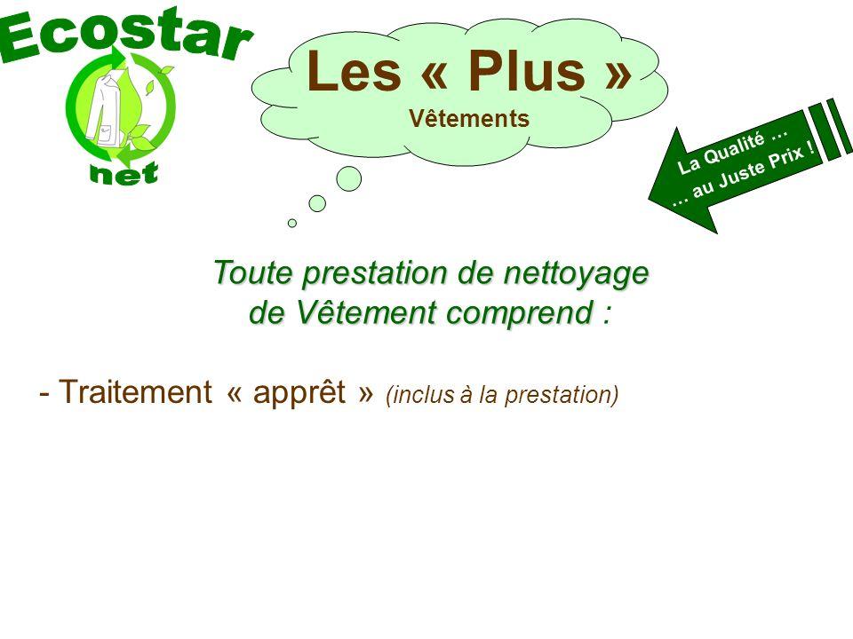 La Qualité … … au Juste Prix .