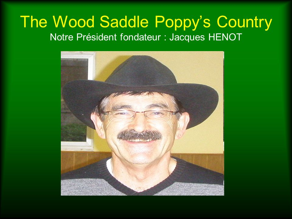 The Wood Saddle Poppys Country 2nd Stage de perfectionnement 13 février 2010 à Fricourt WANTED Claude et Françoise BRETEZ, nos animateurs 20 000 dollars for both live 5 000 dollars to anyone providing information about these country dancers