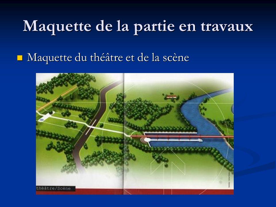 LAmphithéâtre Lamphithéâtre fera face à lOise et dominera la perspective vers Paris offrant un panorama unique.