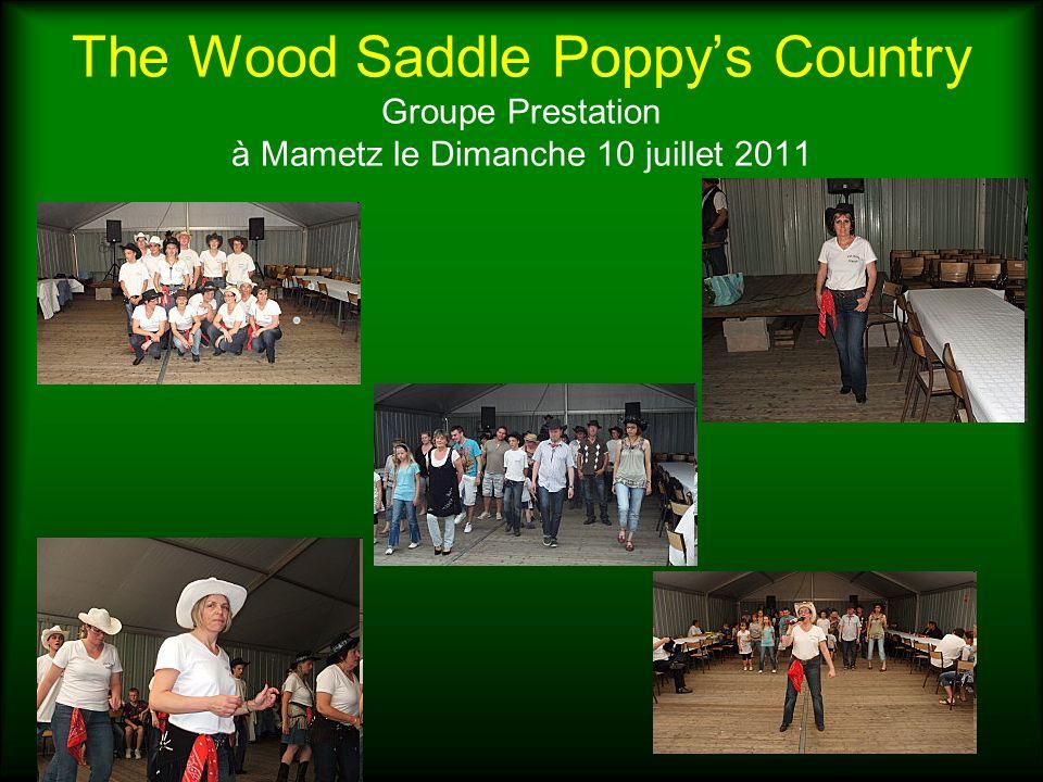The Wood Saddle Poppys Country Groupe Prestation à Mametz le Dimanche 10 juillet 2011
