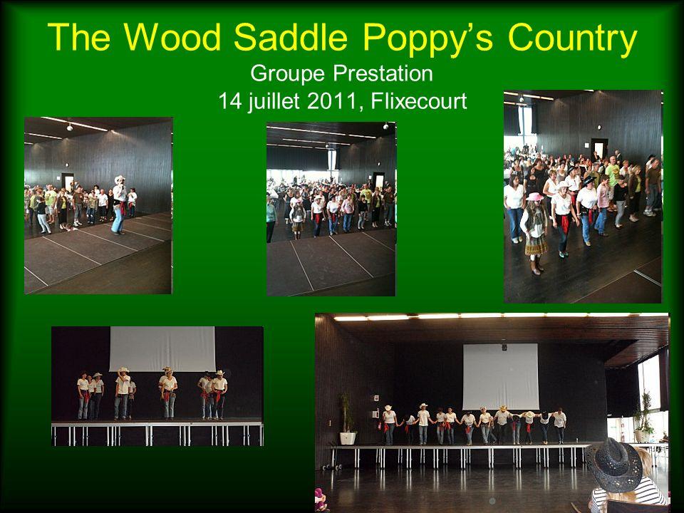 The Wood Saddle Poppys Country Groupe Prestation 14 juillet 2011, Flixecourt