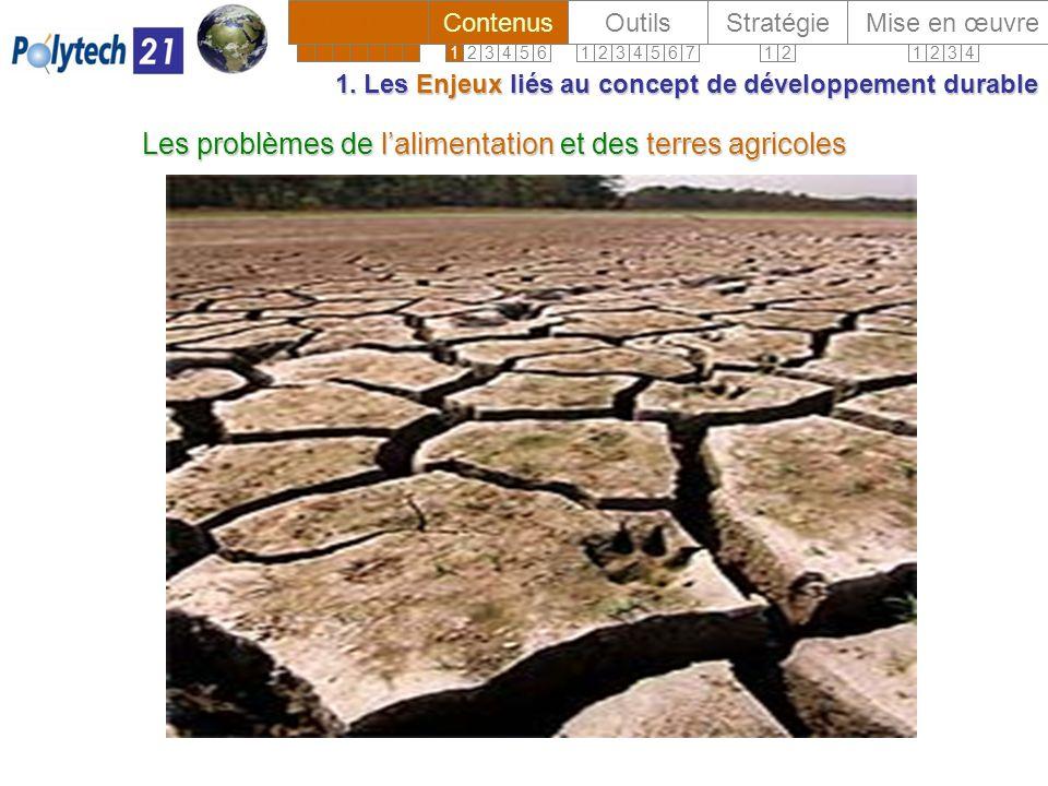 Les problèmes de lalimentation et des terres agricoles 1.