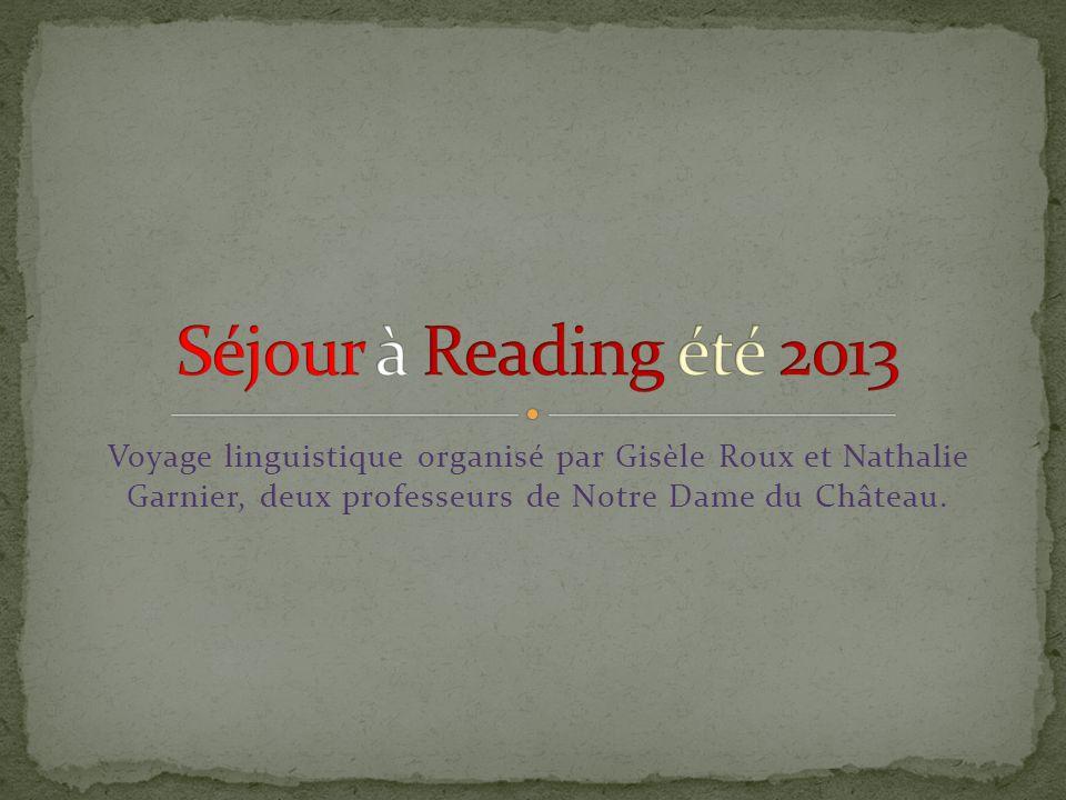Voyage linguistique organisé par Gisèle Roux et Nathalie Garnier, deux professeurs de Notre Dame du Château.