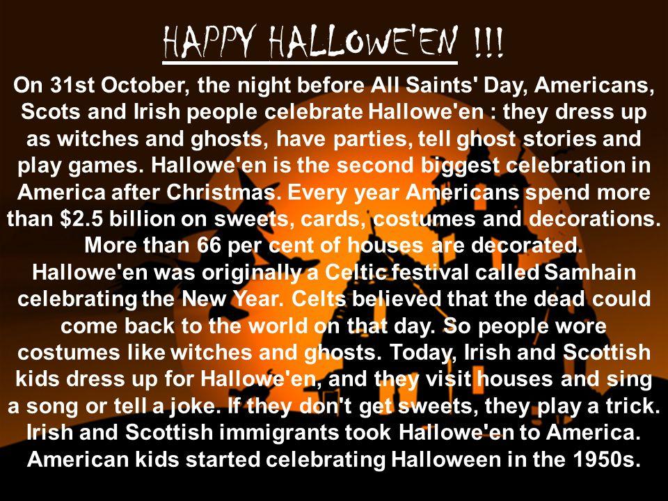 Heureux Halloween.Heureux Halloween.
