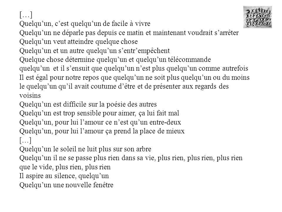 MISSION Ecrire un poème collectif à la manière dHenri Michaux