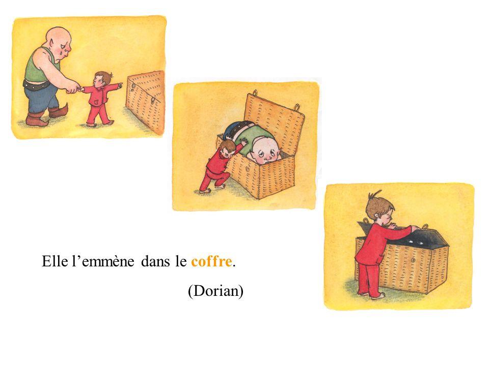 Il pleure parce quil est trop Il ne peut pas rentrer dans son château. (Léa) GROS.