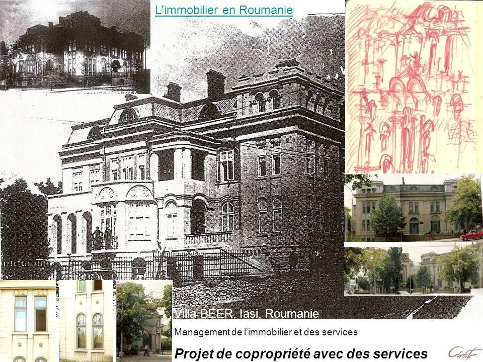 Villa BEER, Iasi, Roumanie Management de limmobilier et des services Projet de copropriété avec des services L'immobilier en Roumanie