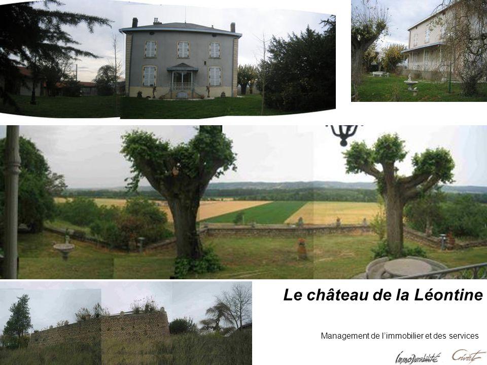 Le château de la Léontine Management de limmobilier et des services