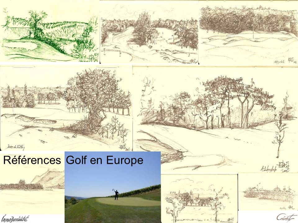 Références Golf en Europe