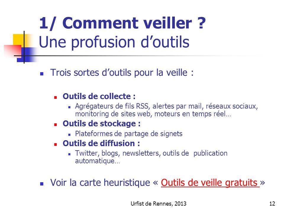 Urfist de Rennes, 201312 1/ Comment veiller .