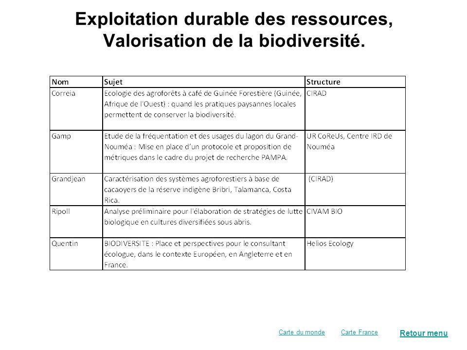 Associations, ONG, fondations … Retour menu Carte FranceCarte du monde