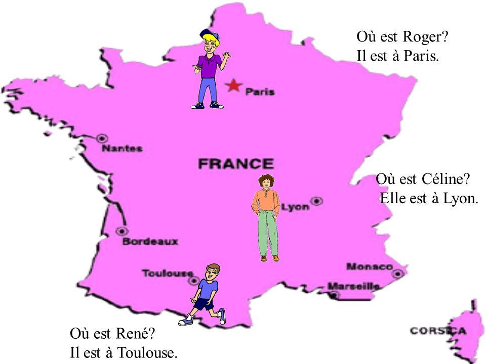TU OU VOUS? Roger, es-tu français? Oui je suis français. Roger et René, êtes-vous français? Oui, nous sommes français Madame, êtes-vous française? Mai